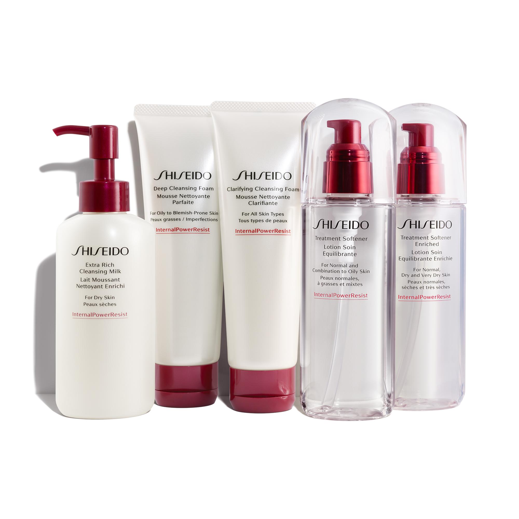Shiseido Internal Power Resist technology